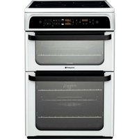 Hotpoint Ultima HUI62TP Electric Cooker - White