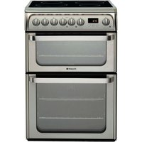 Hotpoint Ultima HUI611X Electric Cooker - Stainless Steel
