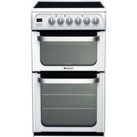 Hotpoint Ultima HUE52PS Electric Cooker - White