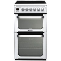 Hotpoint Ultima HUE53PS Electric Cooker - White