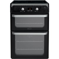 Hotpoint Ultima HUI612K Electric Cooker - Black