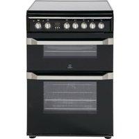 Indesit ID60C2KS Electric Cooker - Black