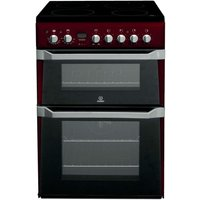 Indesit ID60C2R Electric Cooker - Red