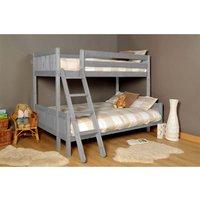 Islington Single Triple Bunk Bed - Grey