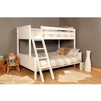 Islington Single Triple Bunk Bed - White