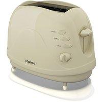 Elgento 2-Slice Toaster - Cream