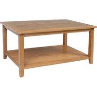 Ametis Croft Oak Coffee Table with Shelf