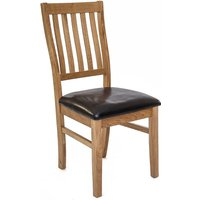 Ametis Croft Oak Dining Chairs - Pair KIN-14