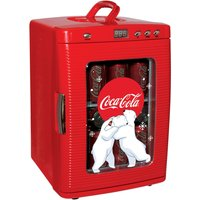 Koolatron Coca-Cola KWC25 28-Can Fridge with LED Display - Red