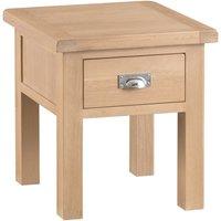 Wisborough Oak Lamp Table