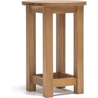 Ametis Lansdown Oak Round Lamp Table