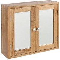 Ametis Lansdown Oak Double Bathroom Cabinet LDN600-BC