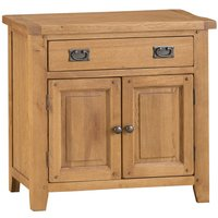 Stockbridge Ready Assembled 1-Drawer 2-Door Oak Sideboard