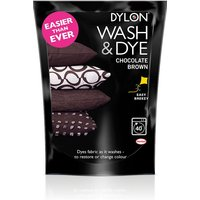 Dylon Chocolate Brown Wash & Dye