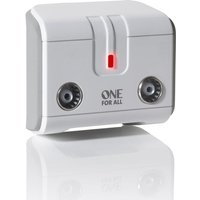 One For All 2-Way TV Signal Booster/Splitter