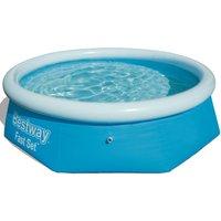 Bestway 2.44m Inflatable Pool - Blue