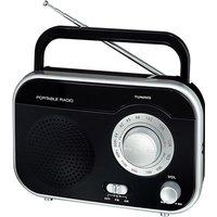 Soundz AC/DC Portable Radio - Black