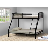 Portland Single Bunk Bed - Black