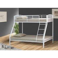 Portland Single Bunk Bed - White