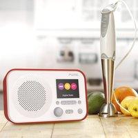 Pure Elan E3 DAB Radio - Red