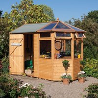 Rowlinson 10ft x 6ft Wooden Potting Store