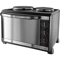 Russell Hobbs 22780 Mini Kitchen 1920W 30L Electric Multi-Cooker Oven with Twin Hotplates - Black