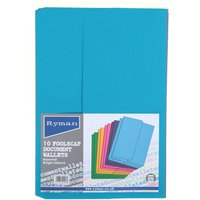 Ryman Document Wallets - 10-Pack