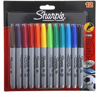 Sharpie Permanent Markers - Pack of 12