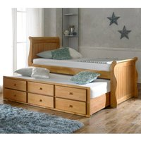 The Artisan Bed Company Captain Bed - Oak