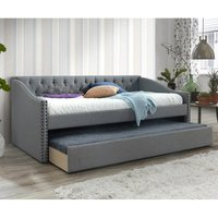 The Artisan Bed Company Fabric Guest Bed - Grey