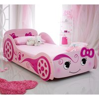 The Artisan Bed Company Love Car Bed - Pink