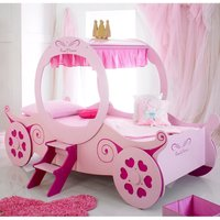 The Artisan Bed Company Princess Carriage Bed - Pink
