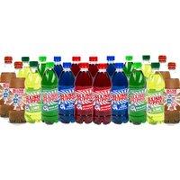Slush Puppie Twenty Syrups - Raspberry, Cherry, Lime, Cola, Green Apple