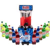 Slush Puppie with Twenty Syrups - Blue Raspberry, Green Apple, Cola, Lime and Cherry