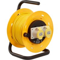 SMJ 2 Gang 25m Cable Reel