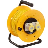SMJ 2 Gang 50m Cable Reel