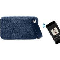 Soundz Fabric Bluetooth Speaker - Blue