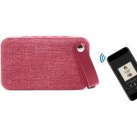 Soundz Fabric Bluetooth Speaker - Pink