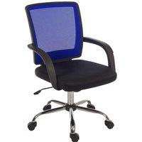 Teknik Star Mesh-Back Office Chair - Blue