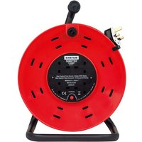 Status 13A 50m 4 Gang Cable Reel