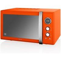 Swan Retro 900w Combi Microwave - Orange