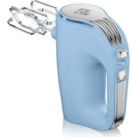 Swan SP20150BLN Retro 5 Speed Hand Mixer - Blue