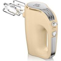 Swan SP20150CN Retro 5 Speed Hand Mixer - Cream