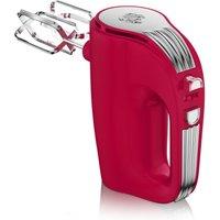 Swan SP20150RN Retro 5 Speed Hand Mixer - Red