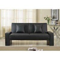 Sydney Sofa Bed - Black