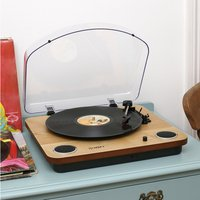 Ion Max LP Conversion Turntable with Stereo Speakers