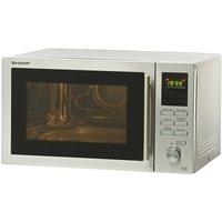 Sharp R82STMA 25-Litre 900-Watt Stainless-Steel Combination Microwave