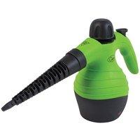Quest 41980 250ml Handheld Steam Cleaner - Green/Black
