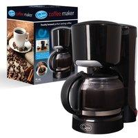 Quest 1.25L Filter Coffee Maker - Black