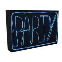 Paladone Products DIY Blue Neon Light